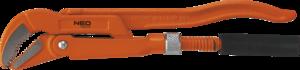 """Ключ трубный тип """"45"""" 330мм 1"""" NEO 02-126"""