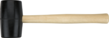 Киянка резиновая 340г TOPEX 02A343