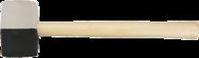 Киянка резиновая 450г TOPEX 02A354