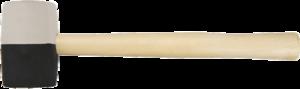 Киянка резиновая 680г TOPEX 02A355