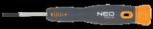 Отвертка шлицевая прецизионная 1,5x40мм NEO 04-081