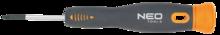Отвертка крестовая прецизионная PZ0x40мм NEO 04-088