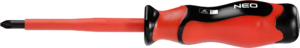 Отвертка крестовая 1000В PH3х150мм NEO 04-169