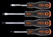 Набор отверток 4шт NEO Tools 04-204