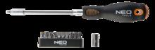 Отвертка с насадками 12шт NEO Tools 04-212