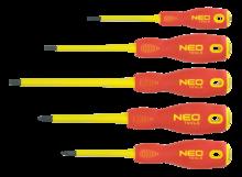 Набор отверток 1000В 5шт NEO Tools 04-220