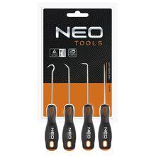 Крюки 140 мм набор 4 шт Neo Tools 04-230