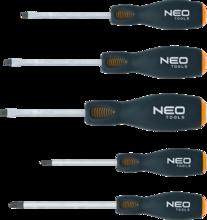 Отвертки усиленные ударные 5шт NEO 04-240