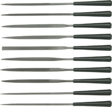 Набор надфилей по металлу 10шт без ручек TOPEX 06A020