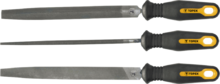 Набор напильников по металлу 200мм 3шт TOPEX 06A230