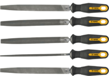 Набор напильников по металлу 200мм 5шт TOPEX 06A250
