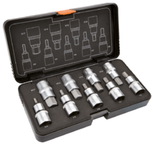 Набор головок с насадками 9шт NEO Tools 08-705