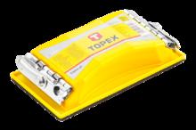 Блок шлифовальный 165x85мм TOPEX 08A108