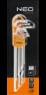 Набор ключей Torx T10-T50 9шт NEO 09-516