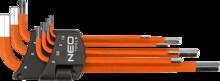 Набор ключей шестигранных 1,5-6мм 7шт NEO 09-517