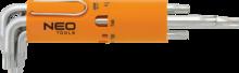 Набор ключей Torx T10-T50 8шт NEO 09-524