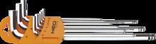 Набор шестигранных ключей 1,5-10мм 9шт NEO 09-525