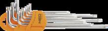 Набор ключей Torx 9шт NEO 09-526