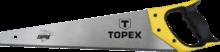 """Пила по дереву """"Shark"""" 7TPI 400 мм TOPEX 10A440"""