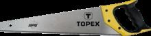 """Пила по дереву """"Shark"""" 11TPI 400 мм TOPEX 10A442"""