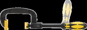 Струбцина нейлоновая 75мм TOPEX 12A382