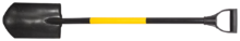 Лопата штыковая полукруглая TOPEX 15A020