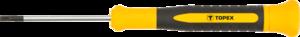 Отвертка прецизионная шлицевая 2.5 x 50 мм TOPEX 39D771