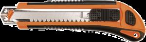 Нож с отламывающимся лезвием 18мм, 3 лезвия TOPEX 17B168