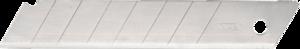 Набор сменных лезвий 9мм 10шт TOPEX 17B349