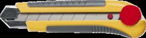 Нож с отламывающимся лезвием 25мм TOPEX 17B490