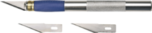 Нож моделиста 155мм 3 лезвия TOPEX 17B703