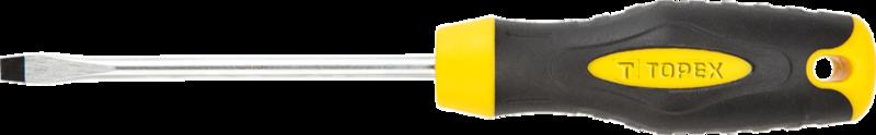 Отвертка шлицевая 4.0 x 100 мм TOPEX 39D802