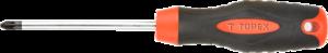 Отвертка крестовая PZ1 x 100 мм TOPEX 39D830