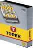 Набор отверток прецизионных 7шт. TOPEX 39D558