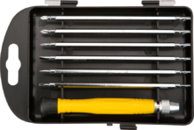 Набор отверток прецизионных 7 шт. TOPEX 39D551