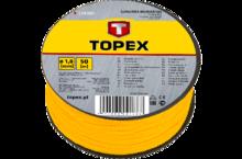 Шнур разметочный каменщика 100м TOPEX 13A910