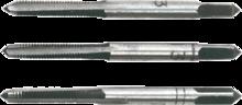 Метчики M3 набор 3шт TOPEX 14A203