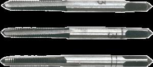 Метчики M5 набор 3шт TOPEX 14A205