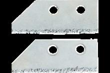 Лезвия для скребка  2 шт TOPEX 16B471-1