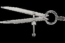 Циркуль слесарный 150мм 65° TOPEX 31C701