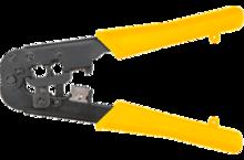 Клещи для обжима телефонных наконечников 185 мм TOPEX 32D408