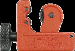Труборез для медных и алюминиевых труб 3-22 мм TOPEX 34D031