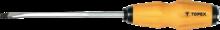 Отвертка шлицевая ударная 5.0 x 75 мм TOPEX 39D250