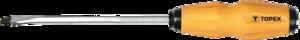 Отвертка шлицевая ударная 6.0 x 100 мм TOPEX 39D251
