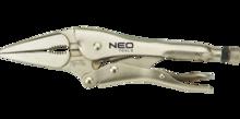 Клещи зажимные удлиненные 230 мм NEO 01-218