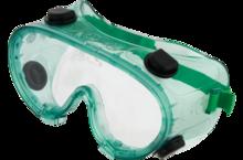 Очки защитные зелёные TOPEX 82S107