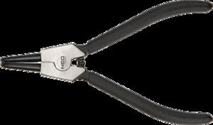 Щипцы изогнутые для снятия внешних стопорных колец 170 мм NEO 01-042
