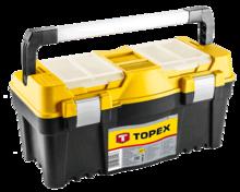 """Ящик для инструмента 22"""" пластиковый, 270x550x270 мм TOPEX 79R128"""