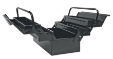 Ящик для инструмента металлический, 5-секционный TOPEX 79R100