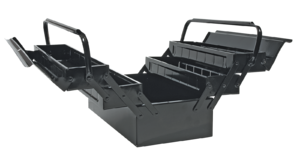Ящик для инструмента металлический, 5-секционный TOPEX 79R101